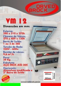 Seladora a vácuo VM 12
