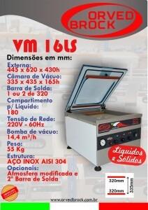 Seladora a vácuo VM 16LS