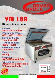 Seladora a vácuo VM 18A