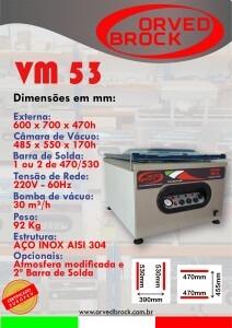Seladora a vácuo VM 53