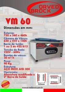 Seladora a vácuo VM 60