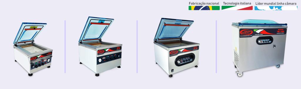 Fabricamos mais de 25 modelos de seladoras a vácuo que podem ser utilizadas para o processo do sous vide