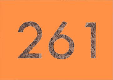Mostra a quantidade de desfiadores necessários, que seria 261